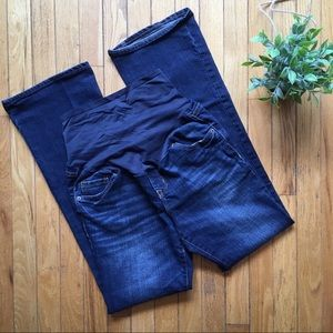 OLD NAVY Maternity Full Panel Boot Cut Jeans NWOT